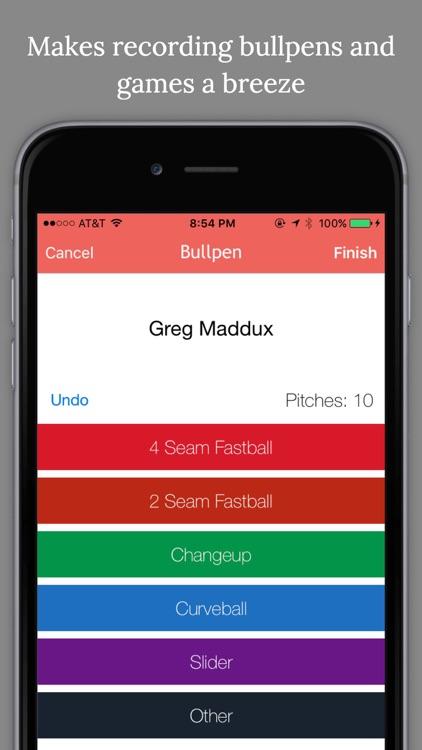Pitch Cast - Baseball/Softball Pitch Tracker
