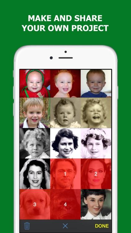 Motato: Morph Face Pictures for Slideshow Maker screenshot-4