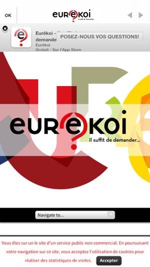 Eurêkoi - il suffit de demander Capture d'écran