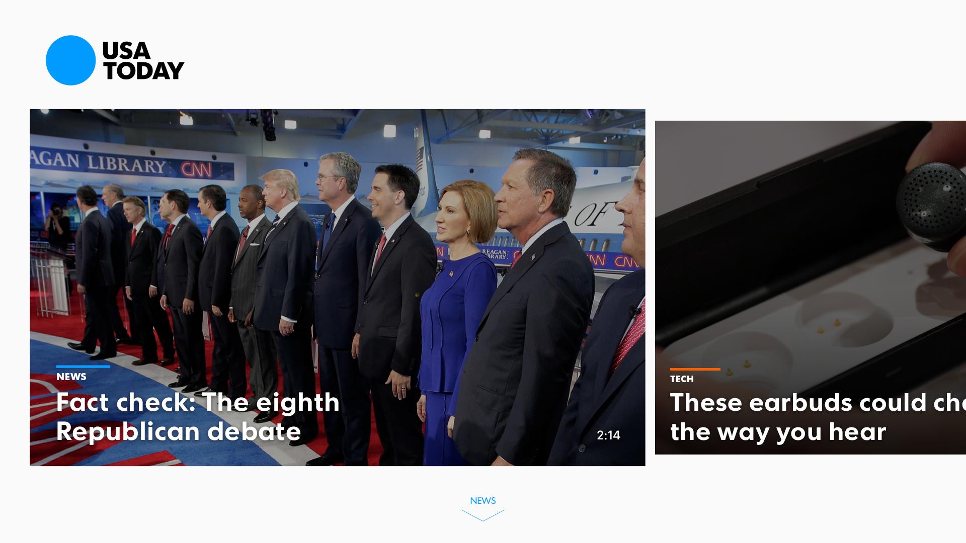 USA TODAY - News: Personalized screenshot 13