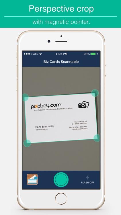Biz Cards Scannable - Business Card Scanner Free & Receipt Organizer + OCR Scanning