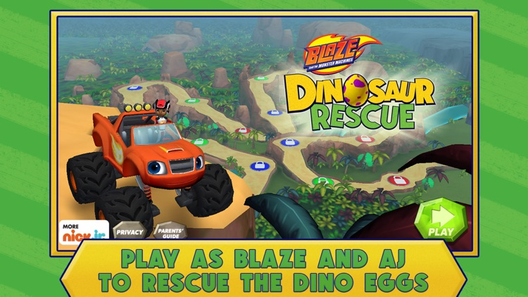 Blaze and the Monster Machines Dinosaur Rescue screenshot-0
