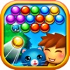 Bubbleburst Animal Shooter Word Star - Pop Pet Rescue Edition