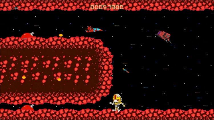 Super Arcade Boy in Defender of Planet Earth screenshot-3