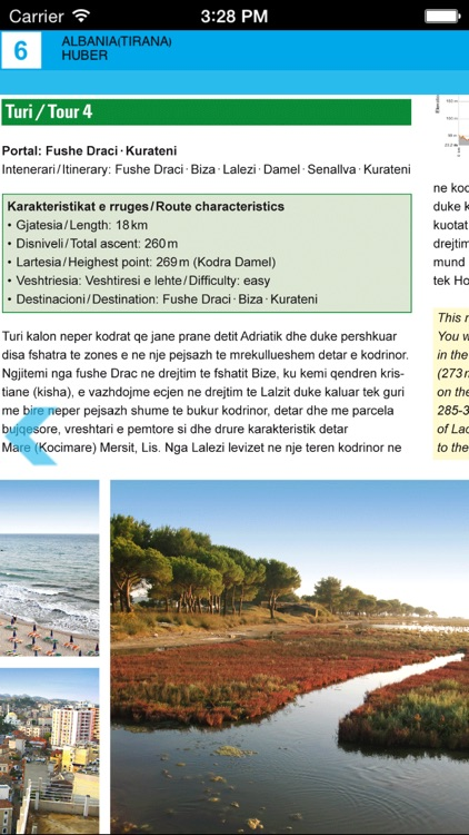 Tirana, Durres, Kruja. Tourist map. screenshot-4