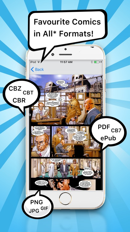 Comic Book Reader - Comic Reader + PDF Viewer