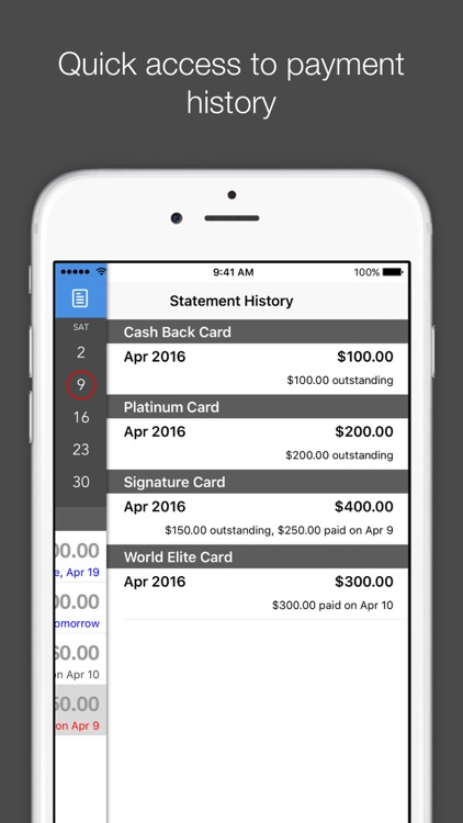 Card Due - Credit Card Bill Tracker screenshot-4