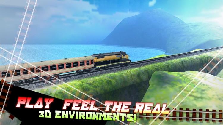 Train Simulator 3D. Best Subway Simulation Driver For Kids screenshot-4