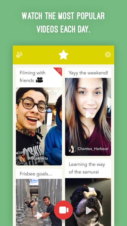 Frames - Create videos with friends! screenshot-3
