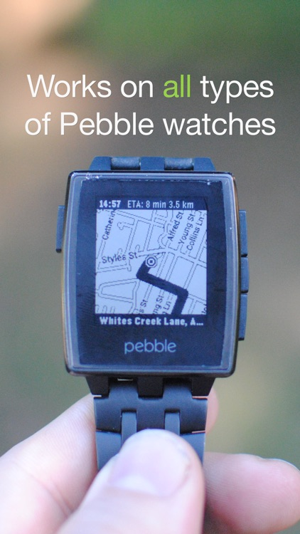 MapsGPS for Pebble - Smartwatch maps and directions screenshot-3
