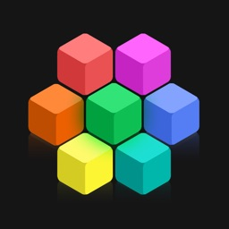 Brain Hexagon: Block puzzle gridblock - 100 qubed dash ways