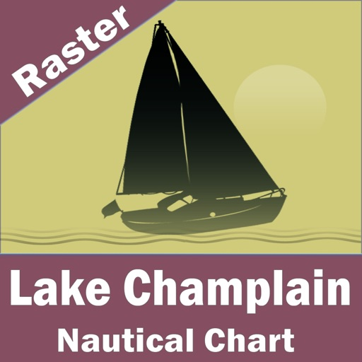 Lake Champlain – Raster Nautical Charts