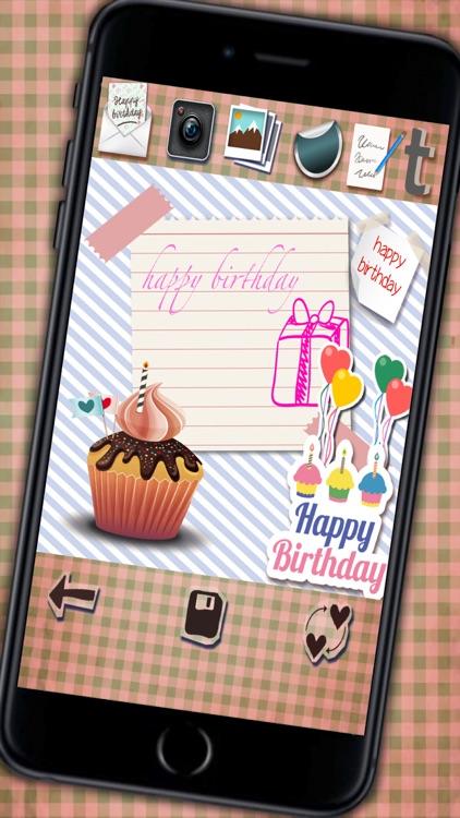 Create happy birthday greetings screenshot-4
