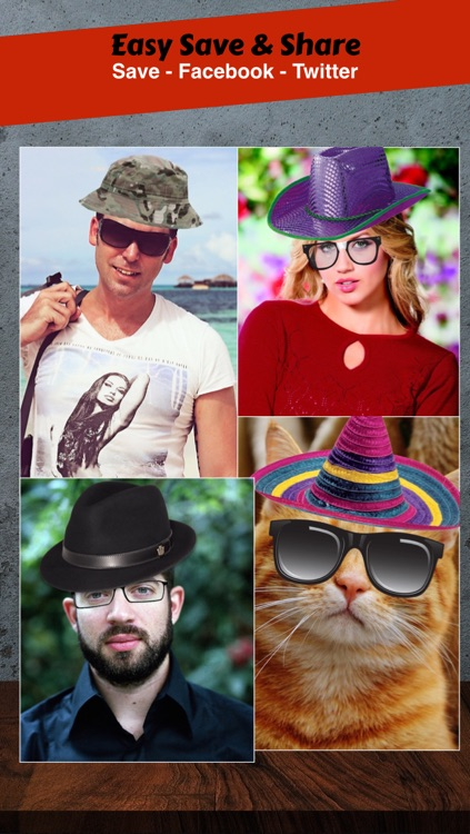 Hat Booth - Funny your photo screenshot-4