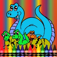 Codes for Dinosaur Coloring Book -  Dino Drawing For Good Kid Games Hack