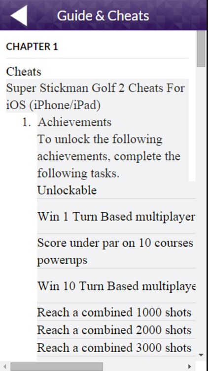 PRO - Super Stickman Golf 2 Game Version Guide