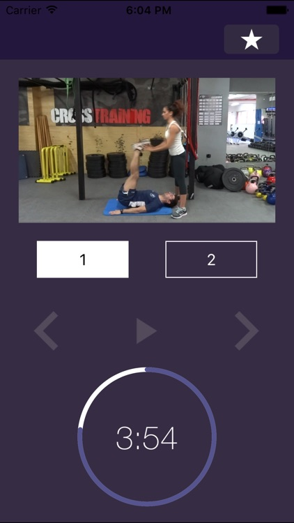 7 min Partner Workout: Couple Exercise Routine Ideas - Bootcamp Training Plan to Building the Perfect Full Body with Friends screenshot-4