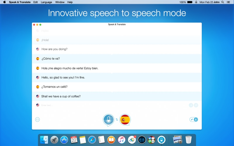 download Speak & Translate - Live Voice and Text Translator