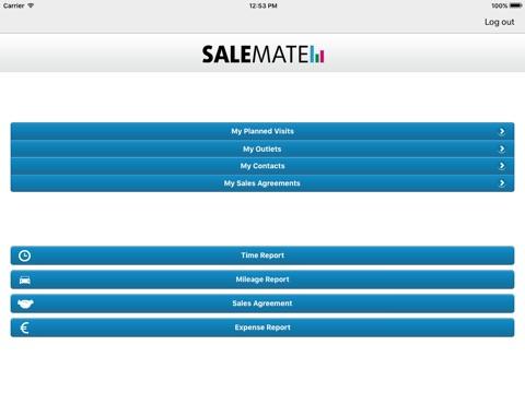 Screenshot of Salemate