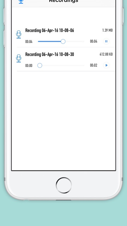 Voice Recorder : Audio Recording, Playback and Cloud Sharing screenshot-3