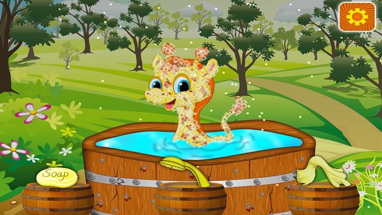 Baby Giraffe Salon
