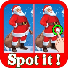 Activities of Christmas Find The Difference : Spot The Difference Hidden Objects