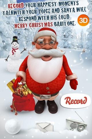 HO HO HO - Talking Santa 3D screenshot 4