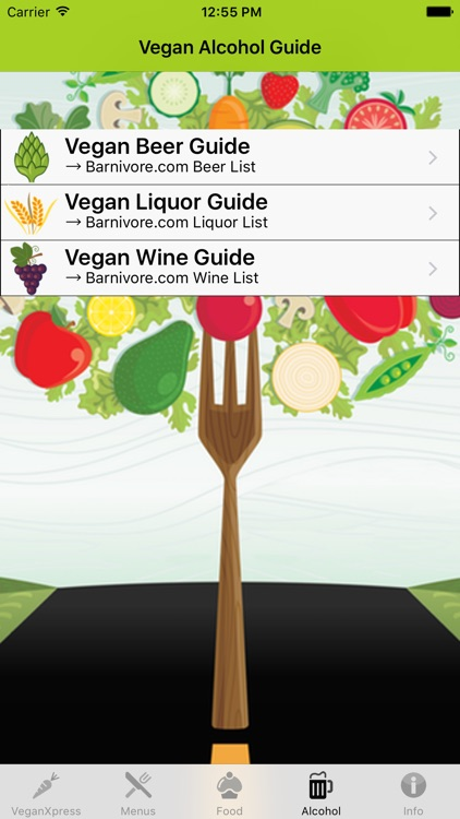 VeganXpress - Menu & Shopping Assistance