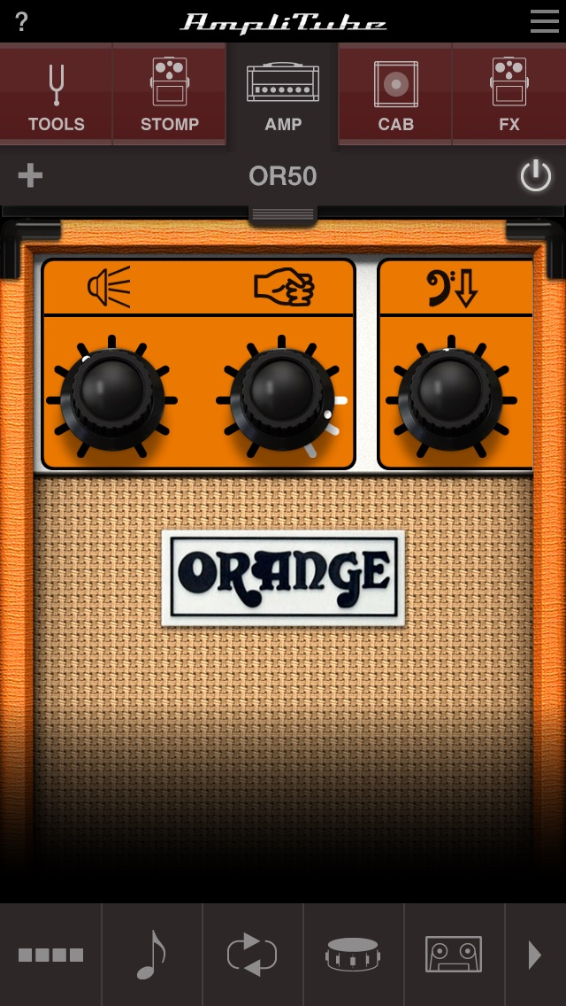 AmpliTube Orange Screenshot