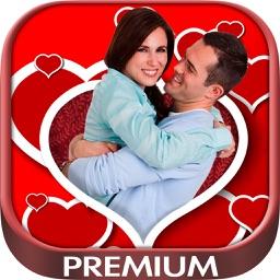 Love photo frames Photomontage love frames to edit your romantic images – Premium