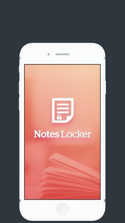 Notes Locker.
