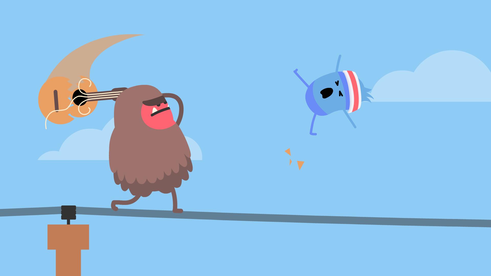Dumb Ways to Die: Wire Walk screenshot 4