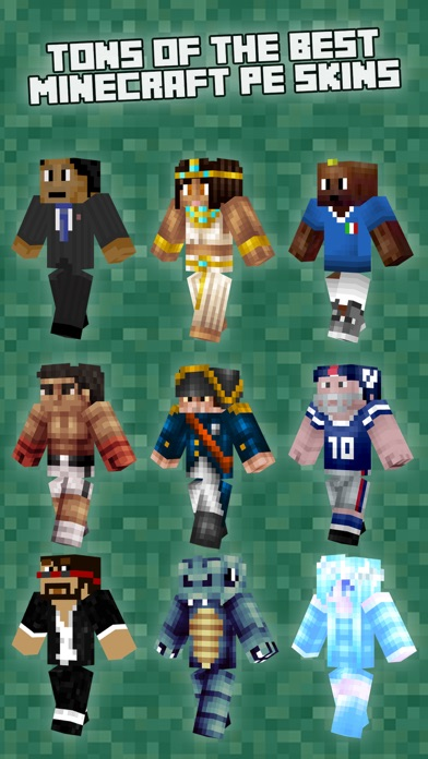 Pe Skins For Minecraft (skins For Minecraft Pocket Edition) review screenshots