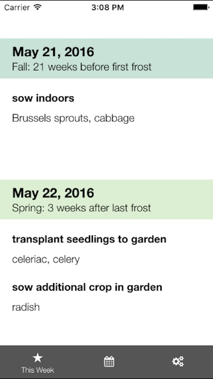 Skippy's Vegetable Planting Calendar