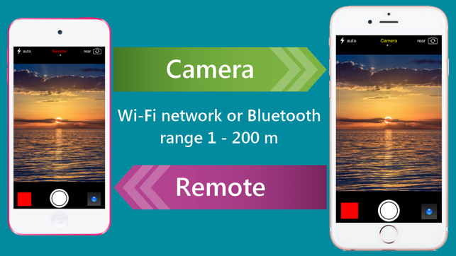 Remote Camera And Selfie Monitor Via Wi Fi And Bluetooth On The App Store