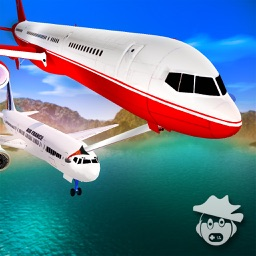 Airplane Pilot Air Refueling Simulation