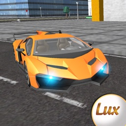 Lux Turbo Sports Car Racing and Driving Simulator