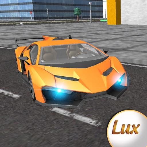 Lux Turbo carreras de coches deportivos y simulador de conducción
