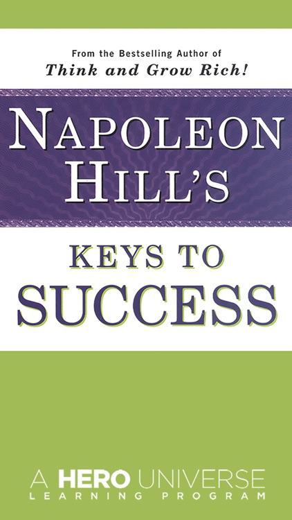 Napoleon Hill's Keys to Success Meditation Audios: The 17 Principles of Personal Achievement From Mind Cures.