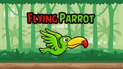 Flying Parrot Jungle Game screenshot one