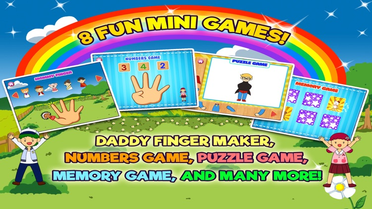 Daddy Finger Family Song screenshot-3