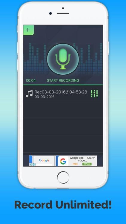 VoiceChange-instant screenshot-3