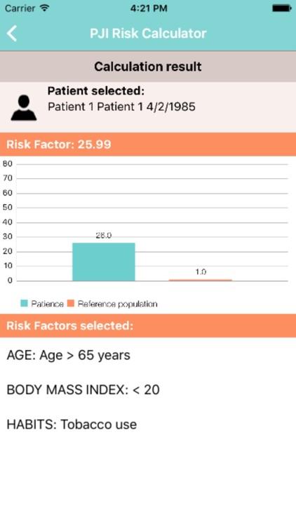 PJI Risk Calculator screenshot-4