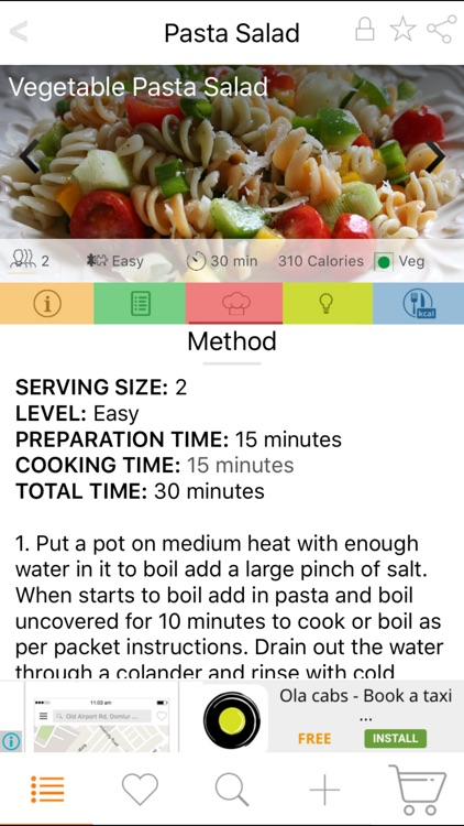 Salad Recipes - Salads from all around the World screenshot-2