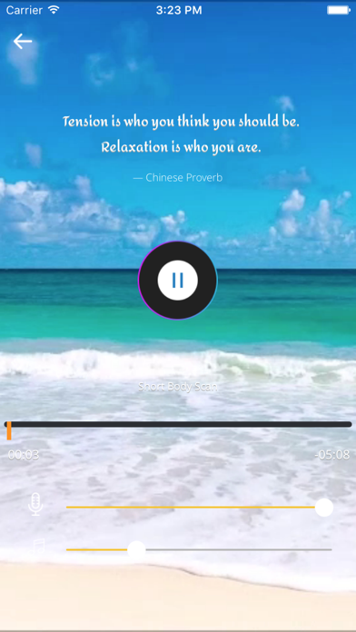 Yoga Nidra - Guided Relaxation Meditation Practice screenshot one