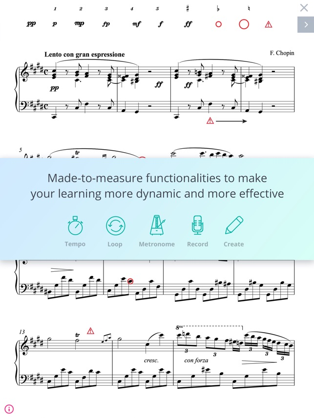 All Music Chords only you sheet music free : Tomplay sheet music on the App Store