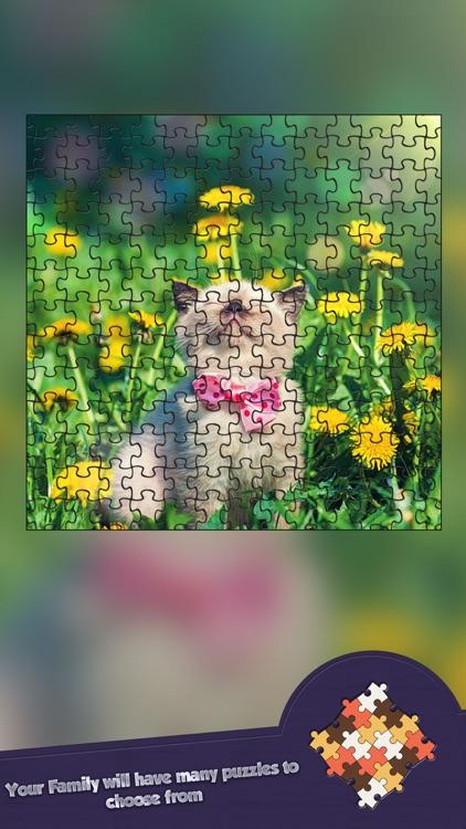 Jigsaw Cutest Kitten Ever Puzzle Puzz - Play To Enjoy screenshot-4