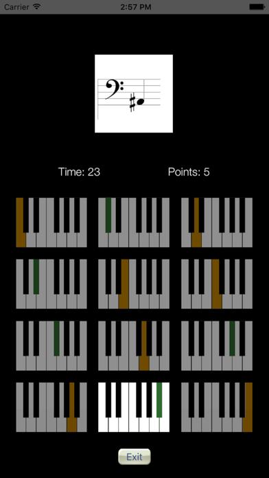 Sheet Music Trainer Piano Bassのおすすめ画像4