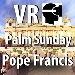 VR Virtual Reality press360 First Palm Sunday with Pope Francis