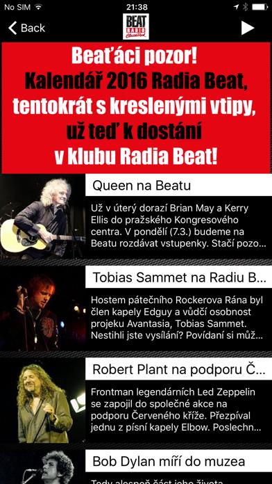 Rádio Beat screenshot two